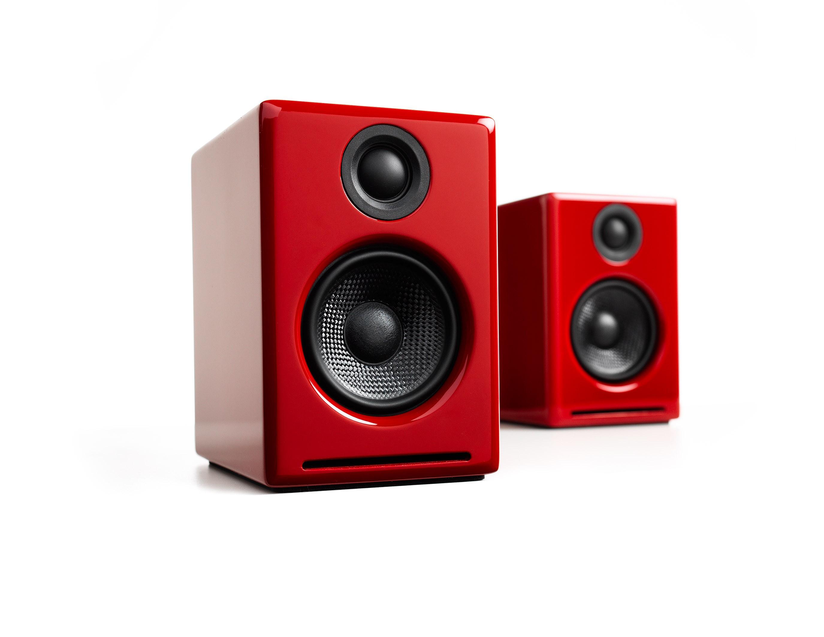 Audioengine A2+ Active Desktop speaker red