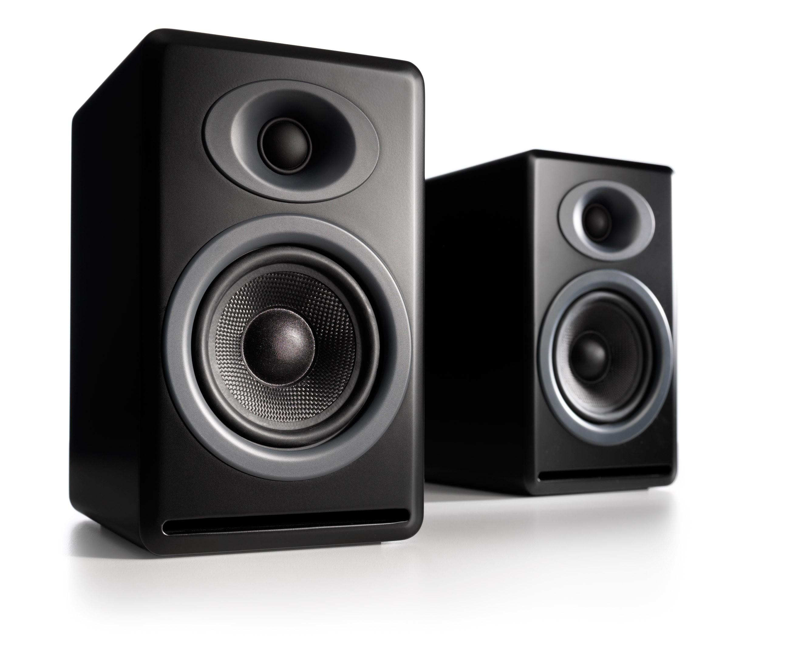 Audioengine P4 Passive Speakers satin black