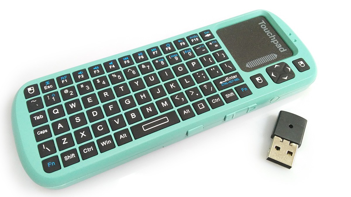 PINE A64+ Wireless Keyboard with integrated Touchpad QWERTY
