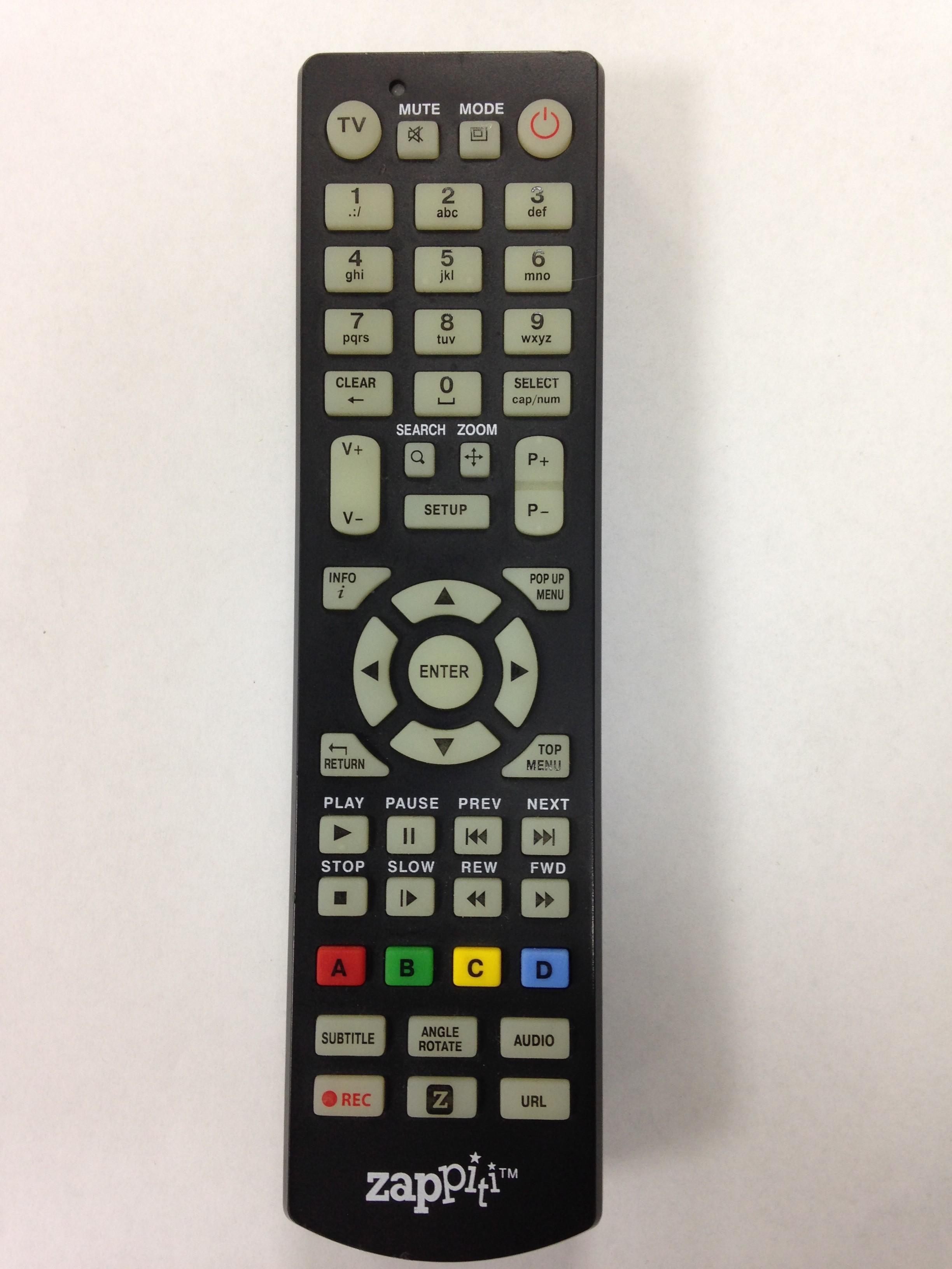Spare Remote Zappiti