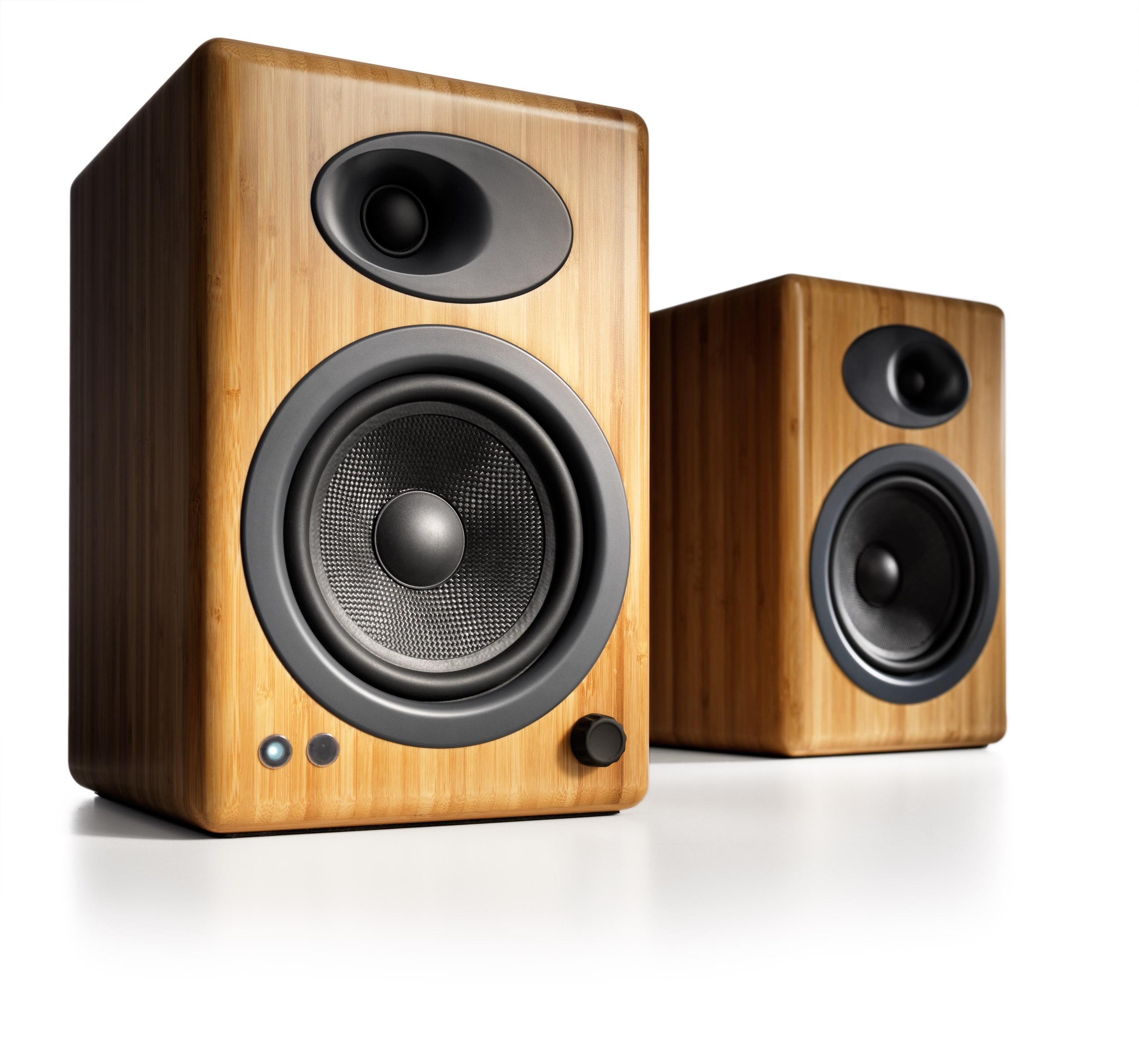 Audioengine A5+ Active Desktop speaker bamboo