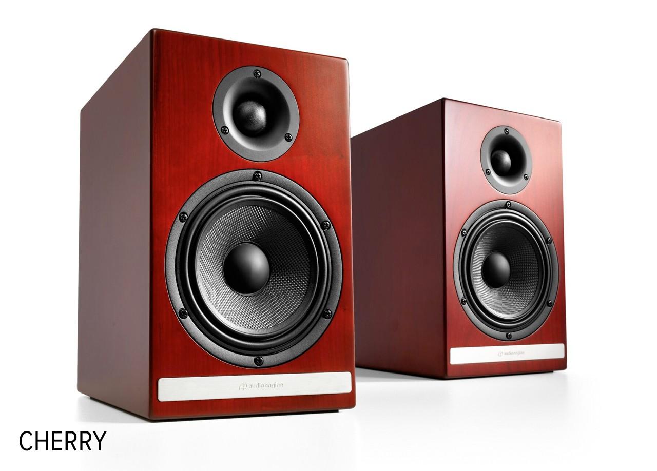 Audioengine HDP6 Passive Speakers cherry