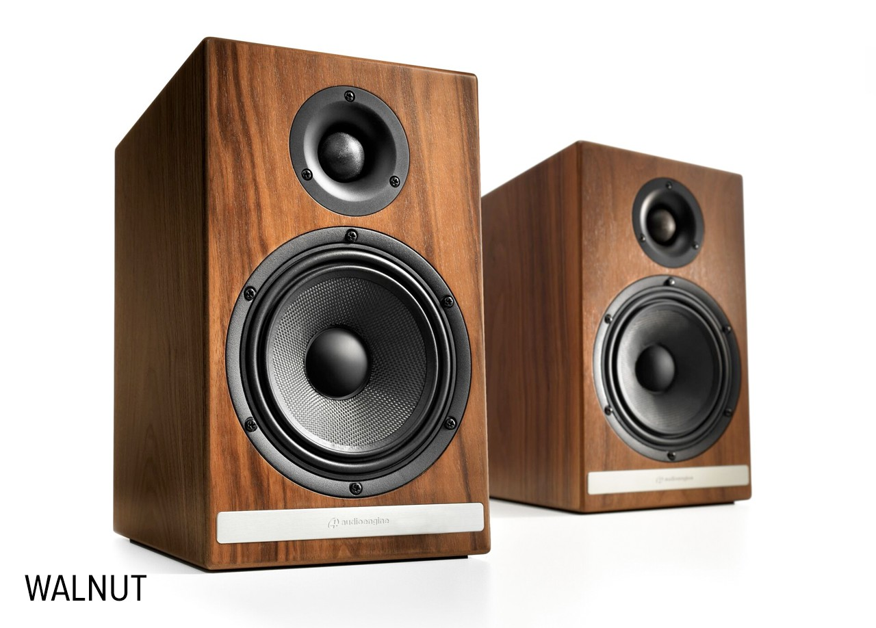 Audioengine HDP6 Passive Speakers walnut