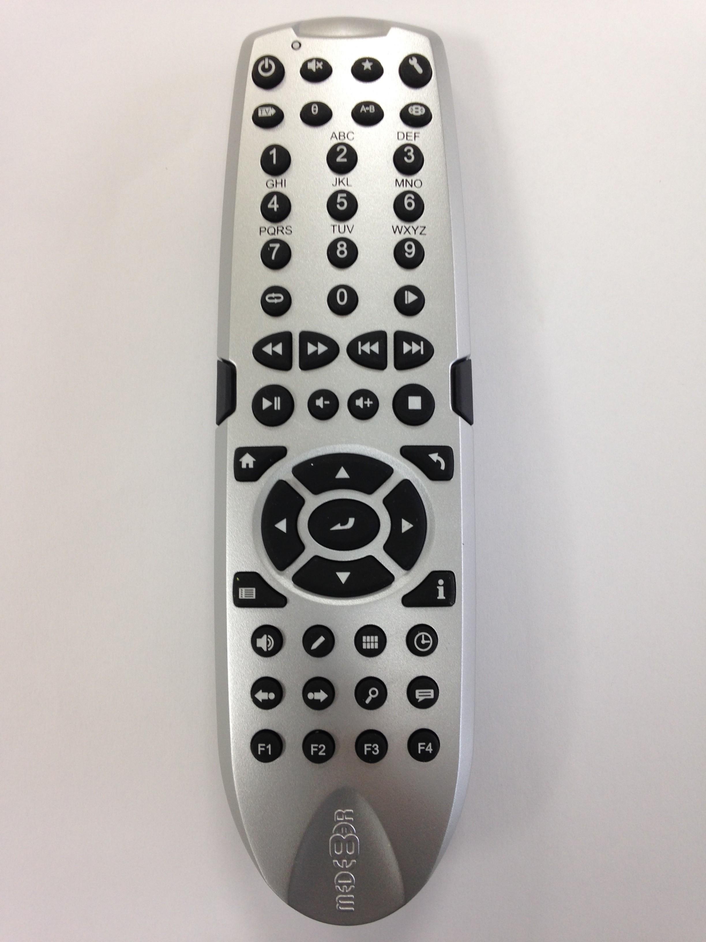 Spare Remote X3D Series (Silver)